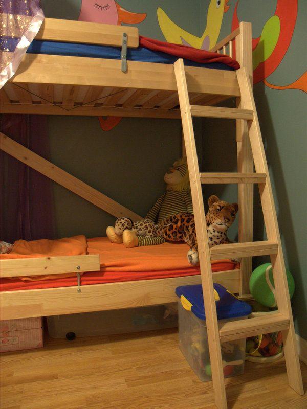 best 20+ ikea toddler bed ideas on pinterest   baby girl bedroom ... - Letto Ikea Kritter