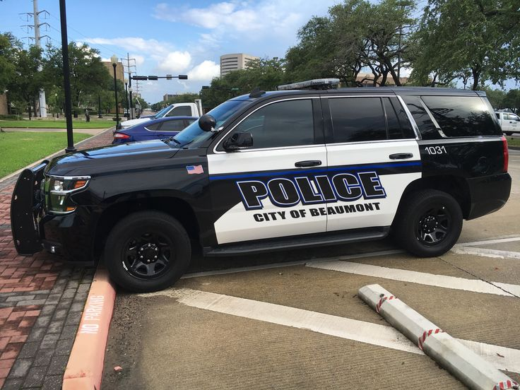 Brian Harris Chevrolet >> Beaumont Police Department Chevy Tahoe (Texas)   Modern Police Vehicles   Police truck, Police ...