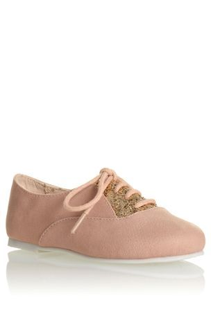 Buy Pink Sparkle Lace-Ups (Younger Girls) from the Next UK online shop