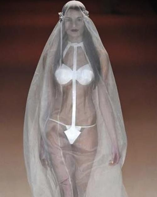 22 Awesomely Awful Wedding Dresses Seriously For Real