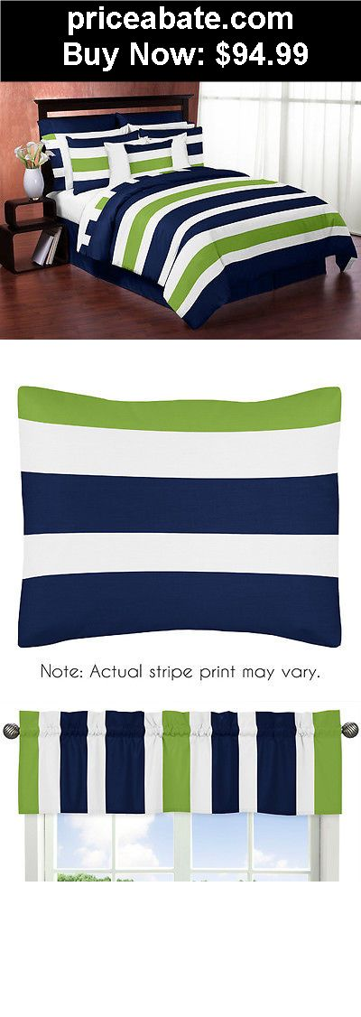 Kids-Bedding: SWEET JOJO DESIGNS MODERN NAVY LIME KIDS TWIN BEDDING SET FOR TEEN BOYS BEDROOM - BUY IT NOW ONLY $94.99