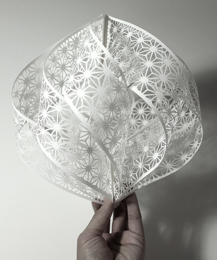 Paper sculptures by Christine Kim  via Cutting of the Paper
