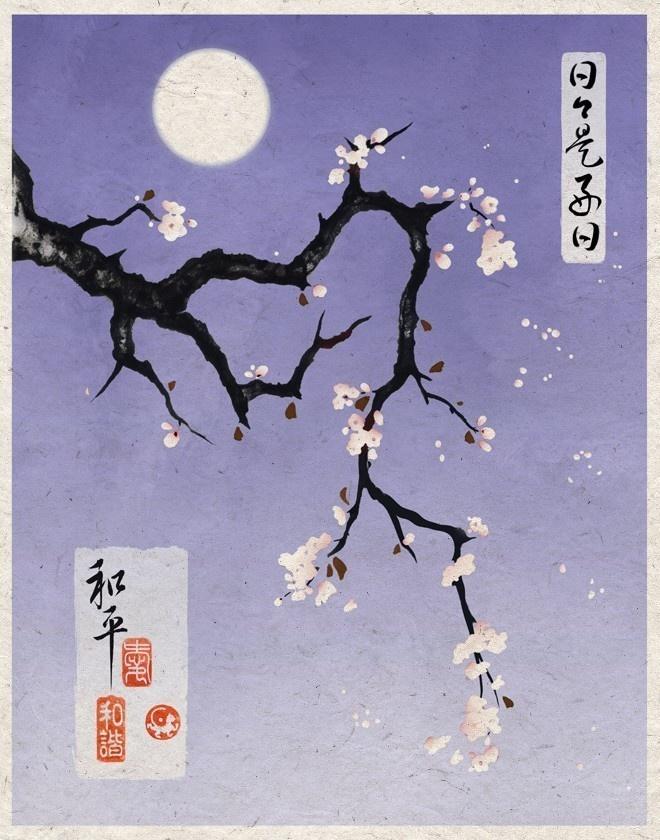 Eastern floral Art