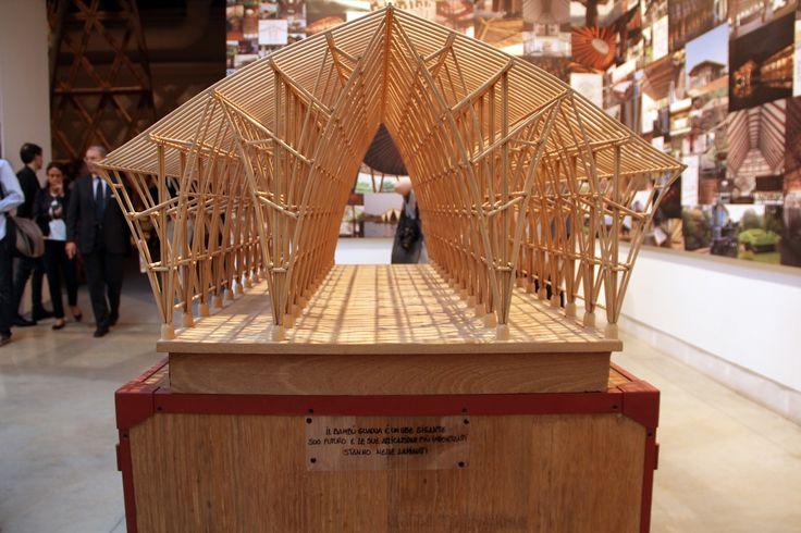 Galeria de Simón Vélez na Bienal de Veneza 2016: 'O bambu não é um material para…