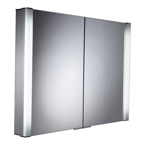 Roper Rhodes Perception Recessible Illuminated Bathroom Cabinet With Motion Sensor Shaver Socket