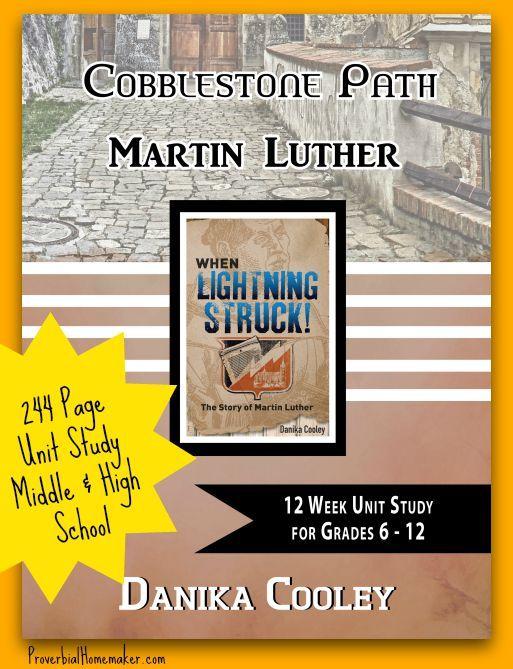 FREE Martin Luther 12-Week Unit Study via @TaunaM