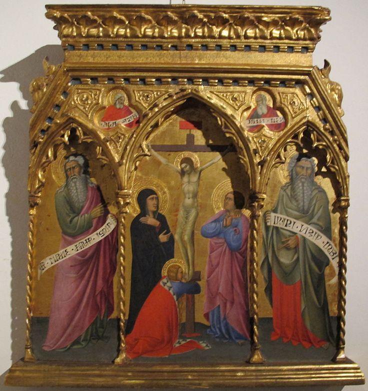 Andrea Vanni - Crocifissione - Pinacoteca Nazionale di Siena