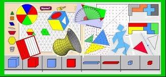 Virtual math manipulatives.