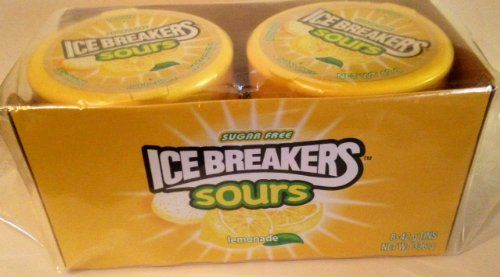 ICE Breakers Sours Sugar Free Mints Lemonade Flavor 42 g (1.48 Oz) Tins (Pack of 8) ICE BREAKERS SOURS http://www.amazon.com/dp/B00EX9N9GG/ref=cm_sw_r_pi_dp_nkqQtb0FHKYF3VCV