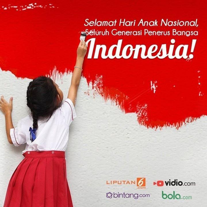 Hari Anak Nasional Bintang.com Indonesia