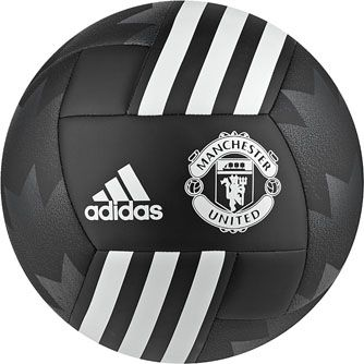 Get it today, adidas Manchester United Soccer Ball. Hot at SoccerPro.