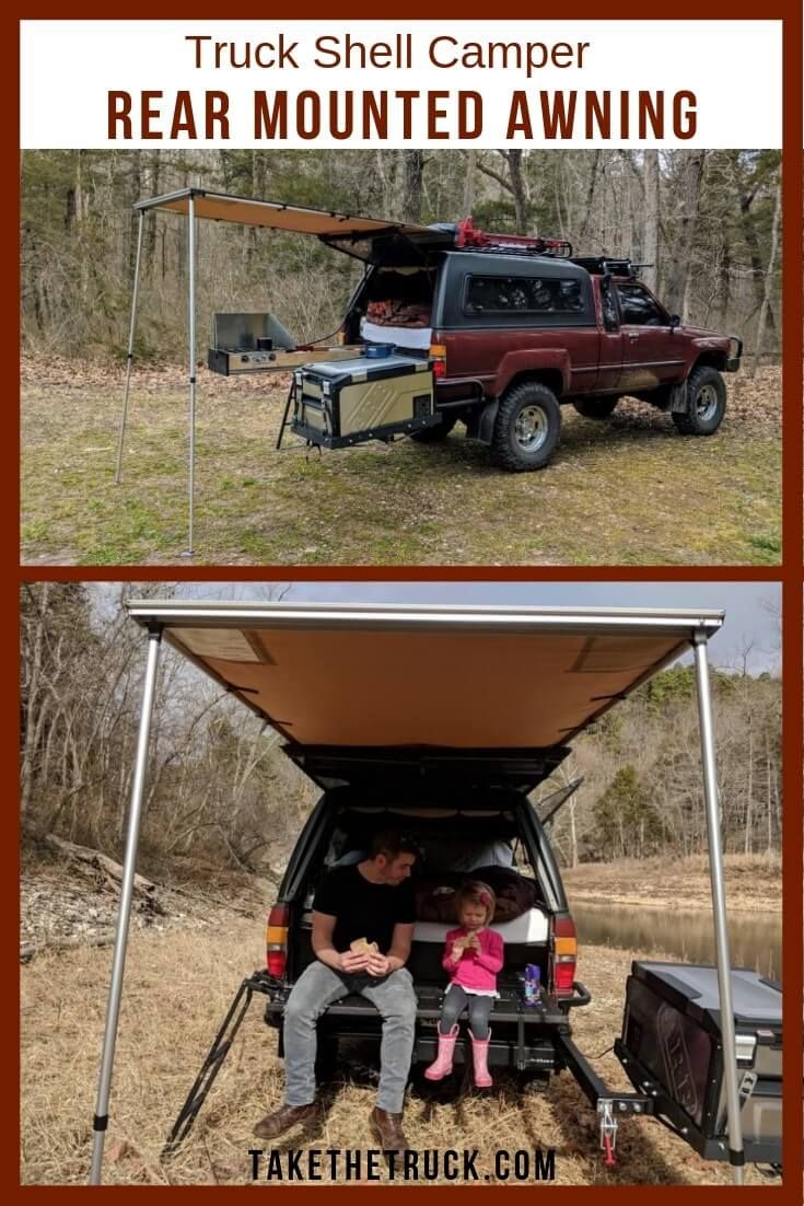 Truck Camper Awning: How to Install a Rear Awning for ...