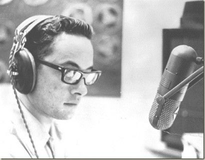 "Adrian Cronauer on the air. This is the man that Robin Williams protrayed in the film ""Good Morning Viet Nam"""