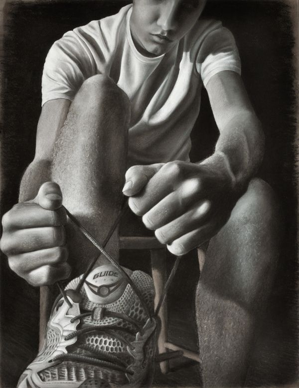 AP Studio Drawing High School Art Concentration by Colin Williams, via Behance