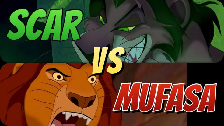 """In the third episode of """"Disney Showdowns,"""" Tycoon and Megabucks head to the jungle (metaphorically!) to watch Mufasa and Scar duke it out in the ultimate UFC showdown (sans opposable thumbs, of course).   #TheLionKing #LionKing #Disney #Mufasa #Scar #Simba #DisneyShowdowns #Animation #Podcast #ScarVSMufasa #Lions #Cats #Fight #FaceOff #HakunaMatata"""