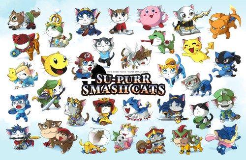 Cats Make Everything Better #SuperSmashBros
