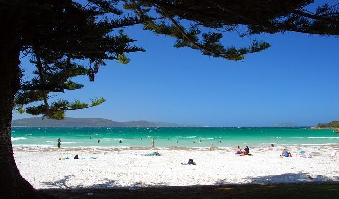 A Sunny Day at Middleton Beach, Albany Western Australia