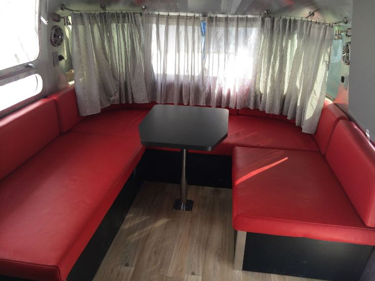 Fantastic 52 Best Airstream Front Bed/dinette Images On Pinterest | Campers Gypsy Caravan And Mobile Home