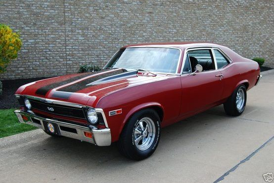 1972 Chevy Nova SS . Want to get my hand on one of these beauties, my old man had one and want to realize the nostalgia