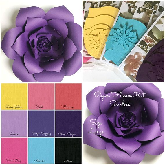 482 best paperflora designs images on pinterest paper flowers paper flower kit do it yourself paper flower kits paper flower template kits large paper flowers paper flowers for nursery decor mightylinksfo Images