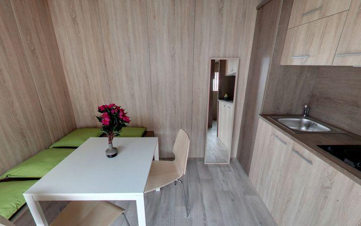 Salon Greenkub Intérieur studio Espace à vivre Studio de jardin - extension maison bois 20m2