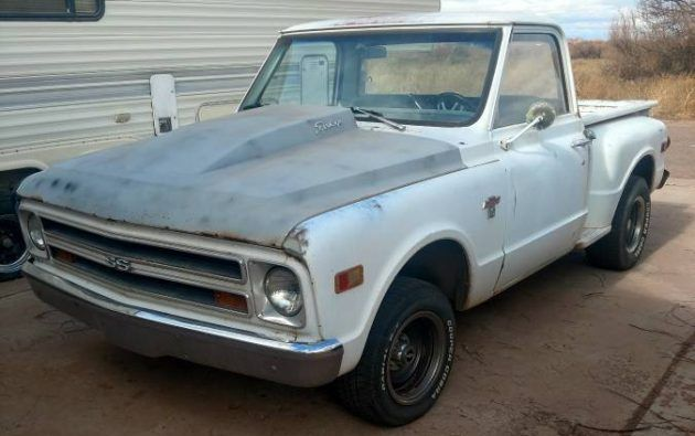 Wolf In Sheep S Clothing 1968 Chevrolet C 10 With A Twist Chevrolet Chevy Trucks Cool Old Cars