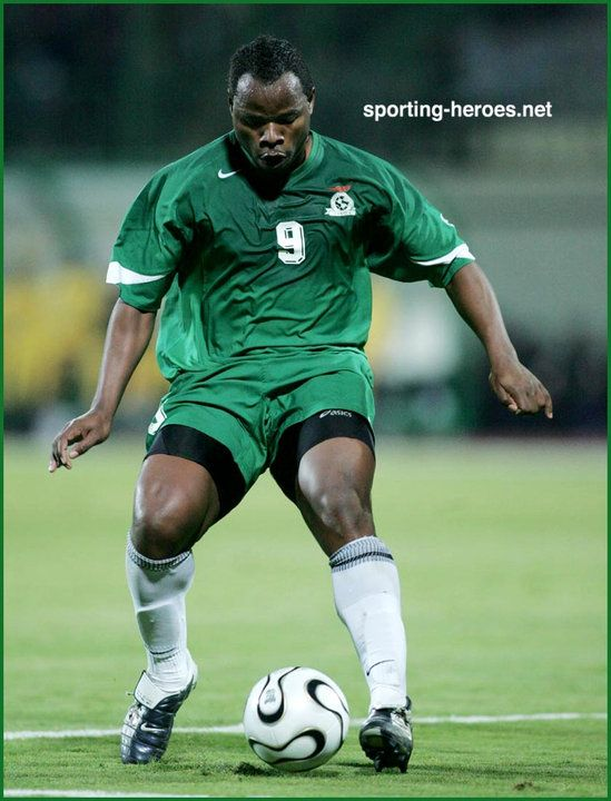 Collins Mbesuma - Zambia - African Cup of Nations 2006