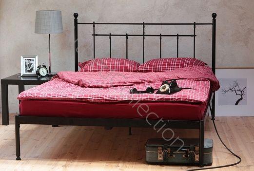 Łóżko metalowe CLASSIC firmy Artbed. Dostępne na www.artbed.pl