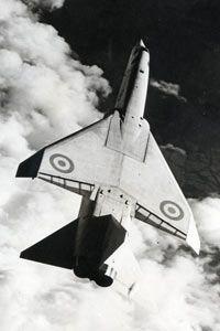 XR219 in flight