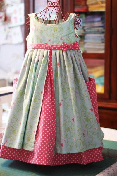 Fairytale Frocks and Lollipops :: Olabelhe, Lauren's Pinafore