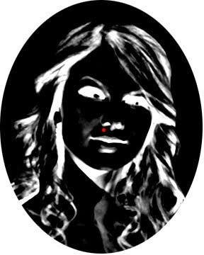Stare at the red dot for 30 seconds then look an empty space on the wall and blink really fast. You will see Taylor Swift on the wall!