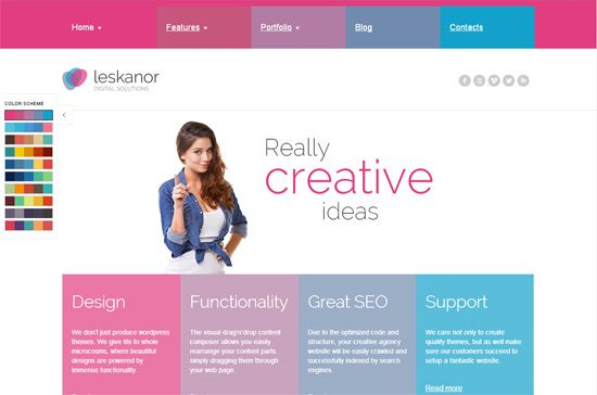 Best Responsive HTML5 and CSS3 WordPress Themes