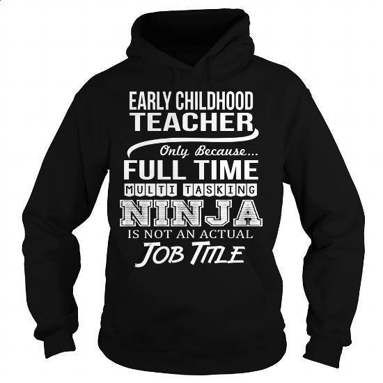 Awesome Tee For Early Childhood Teacher - #fleece hoodie #green hoodie. I WANT…