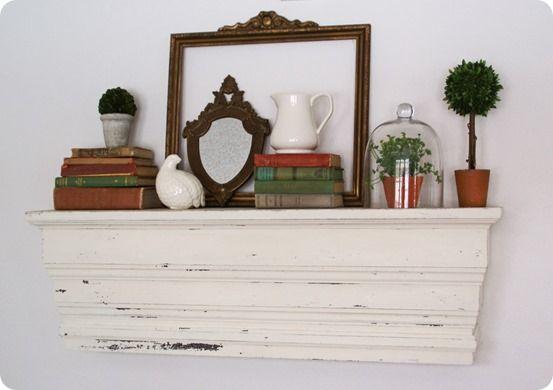 Decorative Chunky Wall Shelf - Knock Off Decor