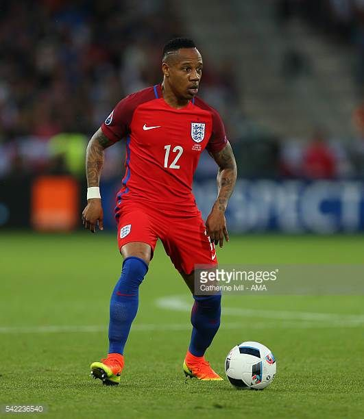 Nathaniel Clyne of England during the UEFA EURO 2016 Group B match between Slovakia v England at Stade GeoffroyGuichard on June 20 2016 in...