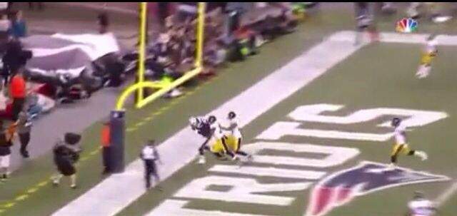 Touchdown Gronk (Pats vs Steelers)