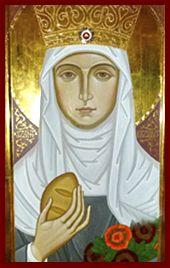Szent Erzsébet ikon