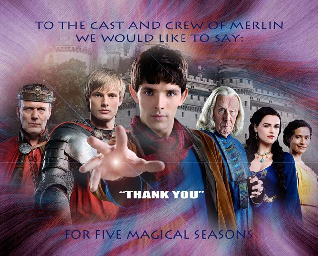 cast of merlin | Thank You to the Cast and Crew of Merlin
