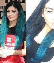 czarno niebieskie włosy - Szukaj w Google