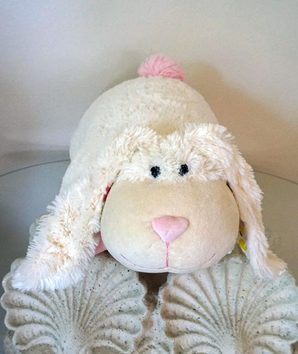 2011 Limited Edition Pillow Pet Bunny never used, new from distributor. Thumpy Bunny Pillow Pet HERE: http://www.amazon.com/Pillow-Limited-Edition-White-Thumpy/dp/B004LMQ0XE/ref=aag_m_pw_dp?ie=UTF8&m=A9CWYFJ8XNEDD or http://giftsforcreativepeople.com/2011-limited-edition-bunny-pillow-pet/ Thumpy Bunny Pillow Pets. Bunny nursery decor: http://www.amazon.com/Pillow-Limited-Edition-White-Thumpy/dp/B004LMQ0XE/ref=aag_m_pw_dp?ie=UTF8&m=A9CWYFJ8XNEDD While our limited supply lasts.