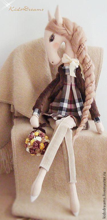 Textile Horse   Текстильная лошадка