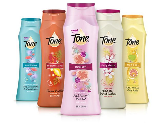 Tone body wash free samples all you