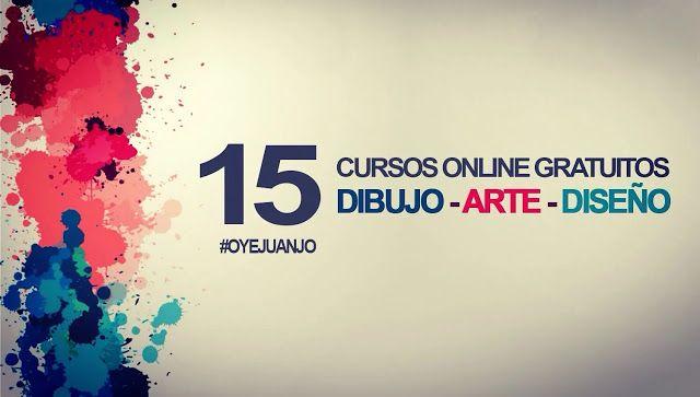 15 cursos online gratis de Dibujo, Arte y Diseño (con certificado)   Oye Juanjo!