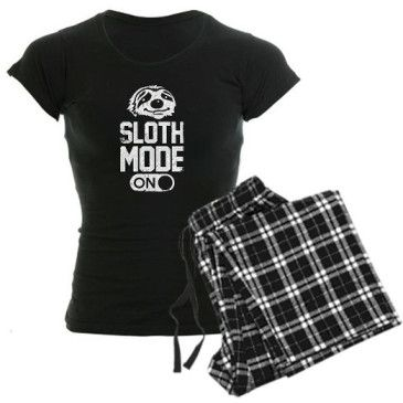 Cute Sloth Pajamas