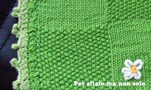 Crochet - Punti all'uncinetto - Decorazione a pippiolini