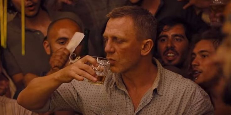 Daniel Craig shares his go-to secret for getting rid of a hangover fast.