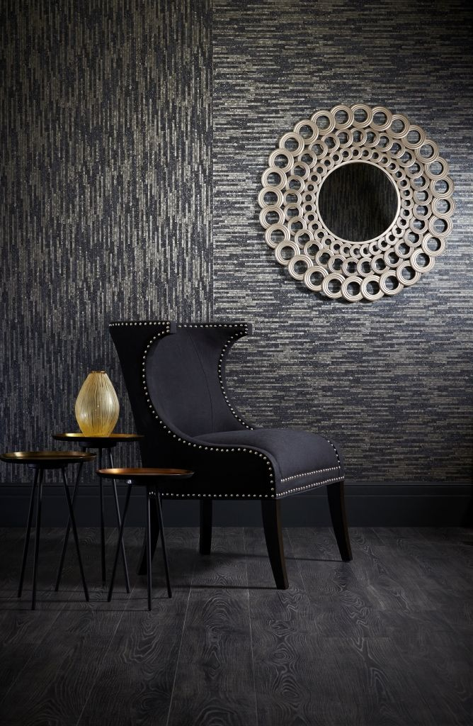 Lazulite wallpaper in Moonrock from the 'Shade Wilder' collection by Arthouse. Available exclusively in New Zealand through Guthrie Bowron.