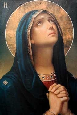 Beautiful Catholic image of Sorrowful Mother - 101 Inspirational Stories of the Rosary
