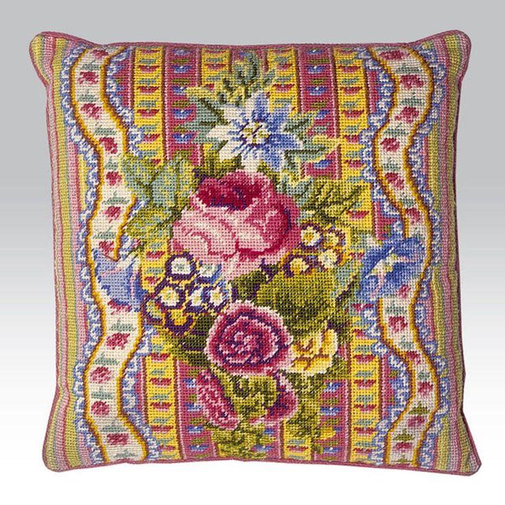 Ribbon and Rose - Ehrman Tapestry