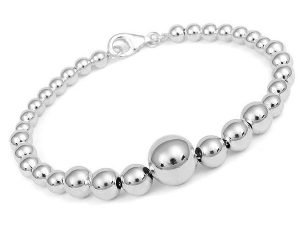 Silver Bracelet - Sphere